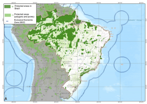 Brazil protected areas UNEP-WCMC