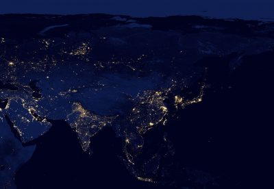 East Asia at night by VIIRS